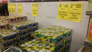 7up, Pepsi, 330mi can 3 cases for £15 @ Farmfoods