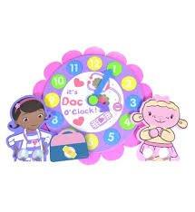 Doc McStuffins Bathtime Clock and Puppet Set @ 64p in Boots