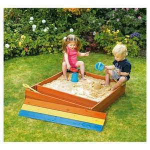 Plum wooden Sandpit and other Plum products reduced £5 in Tesco Crewe