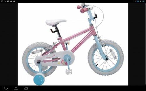 14 inch bike at Argos - £49.99
