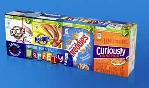 Pic A Pac Variety Pack (Nestle Mini Cereals) x 8, £1 @ Poundland In Store