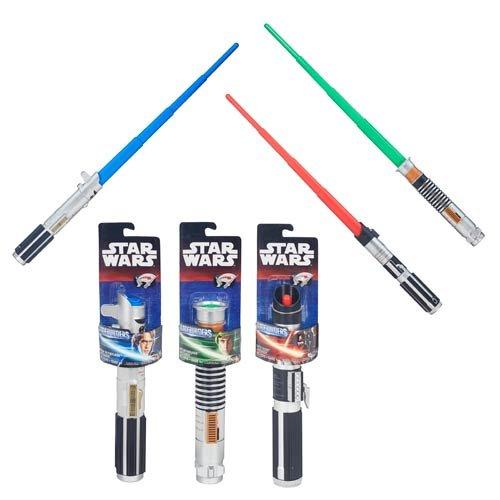 Star Wars Bladebuilders Lightsaber instore at Tesco for £2.50