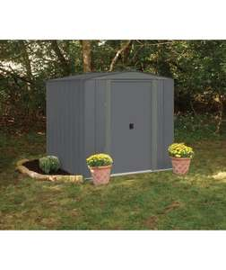 Arrow (Apex) Metal Garden Shed - 6 x 7ft. 381/4365, £159.99 ar Argos