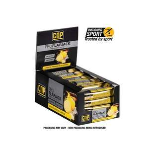 CNP Pro Flapjack Snack Bar - Box of 24 £12.25