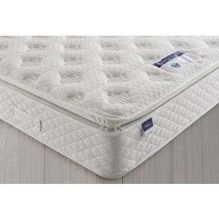 Silentnight geltex comfort pillowtop kingsize mattress £404.94 del using code @ Argos