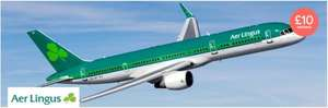 £10 cashback on Aer Lingus Flights with Earnaway