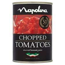 6x Napolina Chopped Tomatoes 400g RTC in Tesco Gainsborough - £1.13