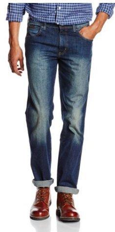 Wrangler Men's Texas Stretch Jeans From £15.63 (P&P £4.75) @ Amazon
