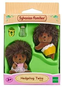 Sylvanian Families twin baby hedgehogs £3.99 add on @ Amazon