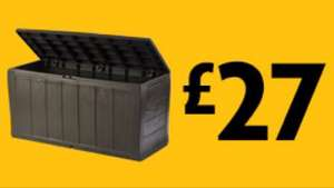 £27.00 Keter Sherwood Storage Deck Box @ Morrisons