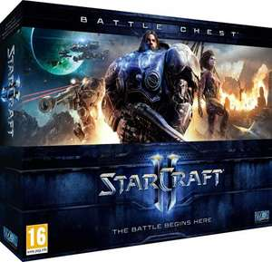 Starcraft 2: Battle Chest (first 2 games in series) (PC DVD) £12.99 (Prime) £15.98 (Non Prime) @ Amazon