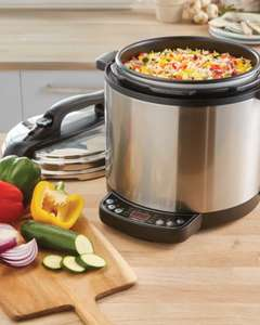 Electric Multi Cooker £39.99/slow-cooker 12.99 pre-order @ ALDI