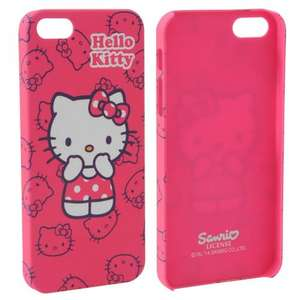 HELLO KITTY Character iPhone 5 Case only £0.99 +£4.99 Delivery (RRP £9.99) at Sportsdirect.com