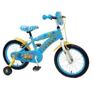 16 Inch Minions Bike + Removable Stabilisers was £84.99 now £44.99 with voucher C+C @ Smyths Toys