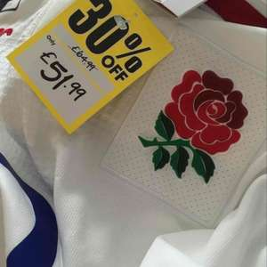 England Canterbury rugby pro jersey - £51.99 instore @ Sports Direct