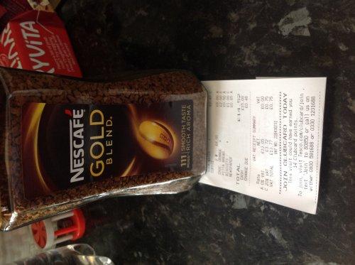 Nescafé Gold blend 200g at Tesco (Bradford) for £4
