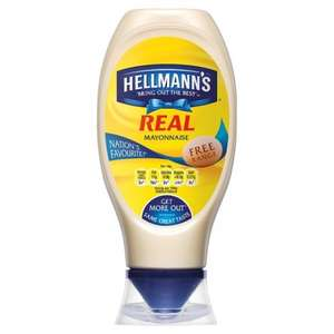 Hellmann's Real Squeezy Mayonnaise 750Ml NOW £2 (was £3.98) @ Tesco