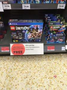 PS4 LEGO Dimensions Starter pack £45 + free Superman Fun Pack @ Sainsbury's