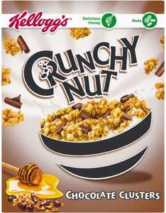 Kellogg's Crunchy Nut Chocolate Clusters (450g) was £2.79 now £1.39 @ Ocado