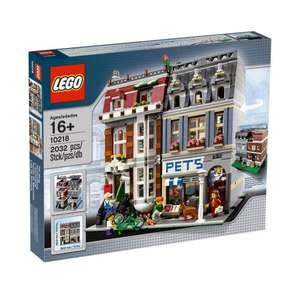 Lego 10218 Creator Pet Shop £99.99 Smyths Tous with Voucher