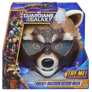 Marvel Guardians of The Galaxy Rocket Raccoon Action Mask £6.66 Prime or £11.41 standard del - Sold by  Toptoys2u Limited & Fulfilled by Amazon