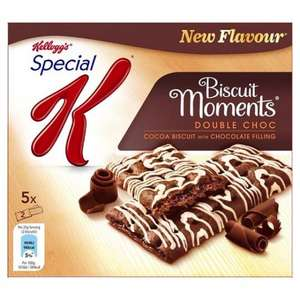 Kelloggs Special K Biscuit Moments Blueberry (5 x 25g =125g) was £1.99 now £1.00 @ Tesco