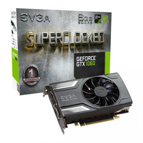 EVGA NVIDIA GeForce GTX 1060 6GB SC GAMING Graphics Card @ Scan - £259.49