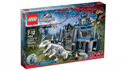 Lego Jurassic World Indominus Rex Breakout 75919 and Disney Frozen Junior Backpack £80.99 smythstoys