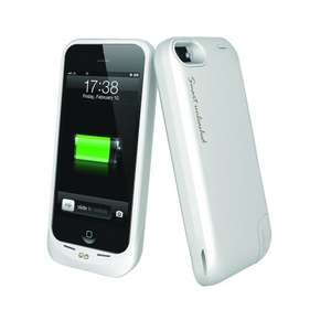 iPhone 5 , 5s or SE. White Case Charger 1900mAh £4.96 + £2.99 Delivery @ Maplin_Outlet