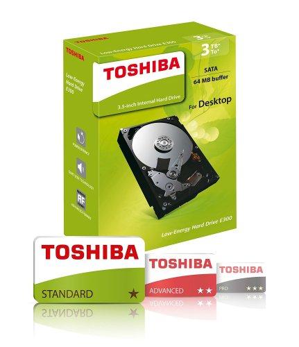 Amazon Toshiba E300 3 TB 3.5-Inch Retail Kit £68.48