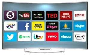 "Goodmans  55"" 4K Curved Smart Android TV £538.80 @ CPC"
