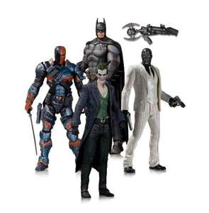 DC collectibles Batman 4 pack figures £29.99 @ B&M. contains Batman,  Joker, Deathstroke and Black Mask.