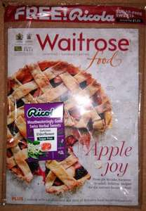 Free Ricola sugar-free sweets with (free) Waitrose Food magazine @ Waitrose