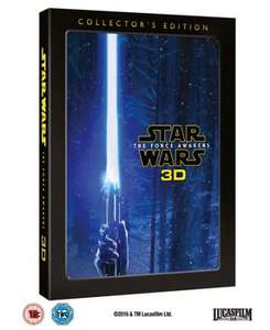 The Force Awakens 3D Blu Ray Collectors Edition £16.99 with code @ Zoom