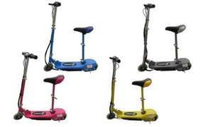 foldable electric scooter 24v with seat @ groupon £47.98 with code + 8% back with quidco an £10 off first order