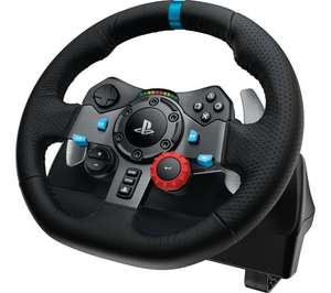 Logitech G29 and G920 at PC World and Currys £161.99