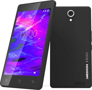 Medion E5020 @ Carphone Warehouse (32GB, 2GB RAM, 8MP, 5 Inch 720p Screen, 1.3Ghz Quadcore, Dual SIM) £5 Quidco £89.99