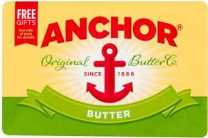 Anchor Block Butter (Salted or Unsalted) (250g) wa £1.50 now £1.00 @ Morrisons