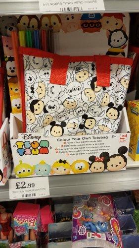 TSUM TSUM Tote bag £2.99 @ Home Bargains Waltham Abbey