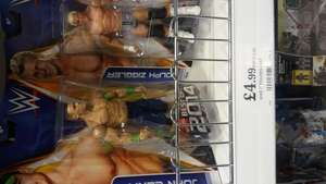 Wwe figures £4.99 @ Home Bargains