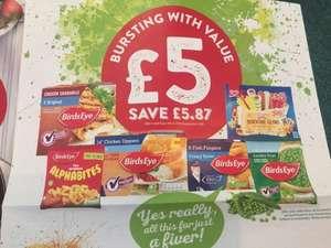 Co-op Frozen Feed the Family Meal Deal Starts 7th Sept £5.00 (£4.50 NUS)