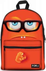 Backpack School bag,FOR U DESIGNS Casual Daypacks 3D Unique Funny Emoji £19.50 Sold by Agrass and Fulfilled by Amazon.