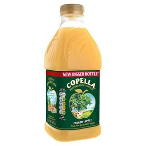Copella Apple Juice (900ml) / Copella Apple & Elderflower Juice (900ml) was £1.94 now £1.00 @ Morrisons