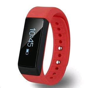 EFOSHM RED Wireless Activity and Sleep Monitor Pedometer Smart Fitness Tracker Wristband Watch £15.99 Sold by EFOSHM and Fulfilled by Amazon. (Lightning Deal)