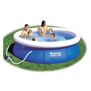 The Range at the Jewel, Scotland Edinburgh Bestways 10Ft Quick Up Pool & Pump, Store Only £15.00