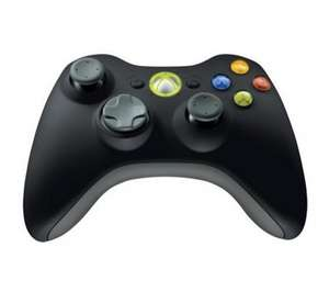 Xbox 360 Wireless Controller for Windows – Black ( 10% OFF) @ Currys (£31.49)