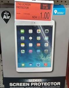 B&M - iPad air/air2 anti-fingerprint screen protector £1 [in-store only]