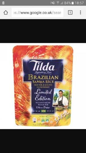 Tilda Brazilian Samba Rice 69p @ Aldi (INSTORE ONLY)