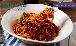 Bella Italia Meal (Groupon) for 2/4/6 people: 2 course + Peroni or Wine for £7.50pp (with voucher)