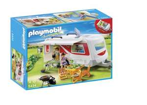 Playmobil 5434 Summer Fun Family Caravan £7.50 @ Tesco